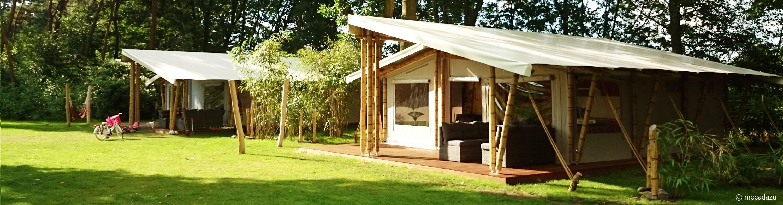 mocadazu luxe bamboe tent
