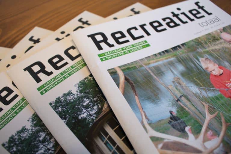 Recreatief totaal magazine recreatie magazine voor beslissers