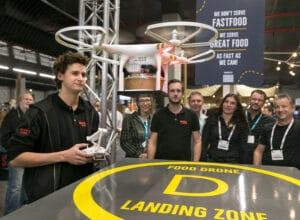 horecava drone als pizzakoerier