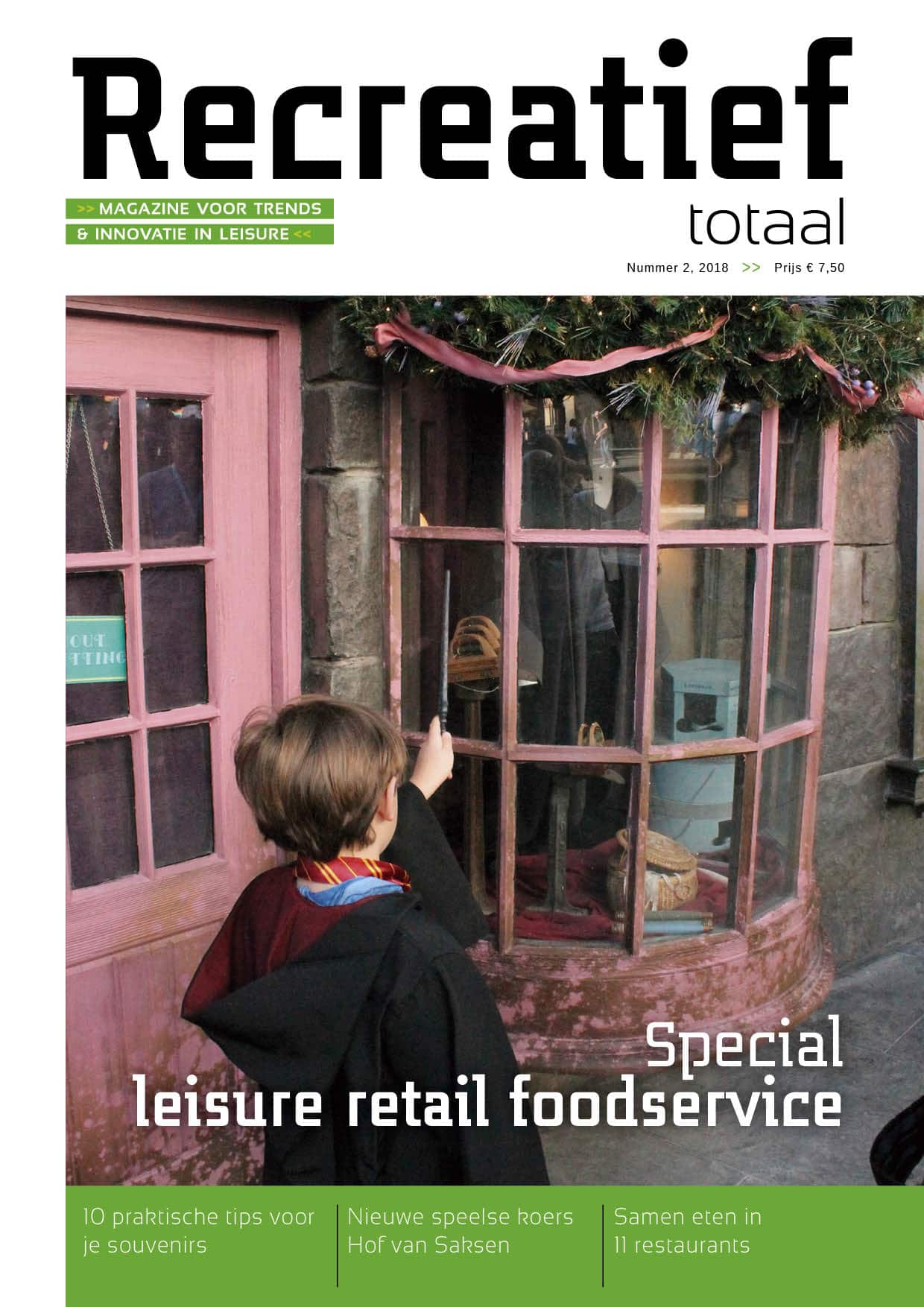 Food en retail recreatie sector - recreatief totaal