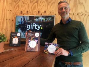 Gifty cadeaubonnen platform Sjon Sluys van Gifty