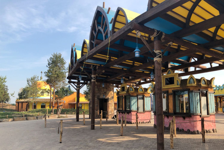 Pendelbus attractiepark Toverland