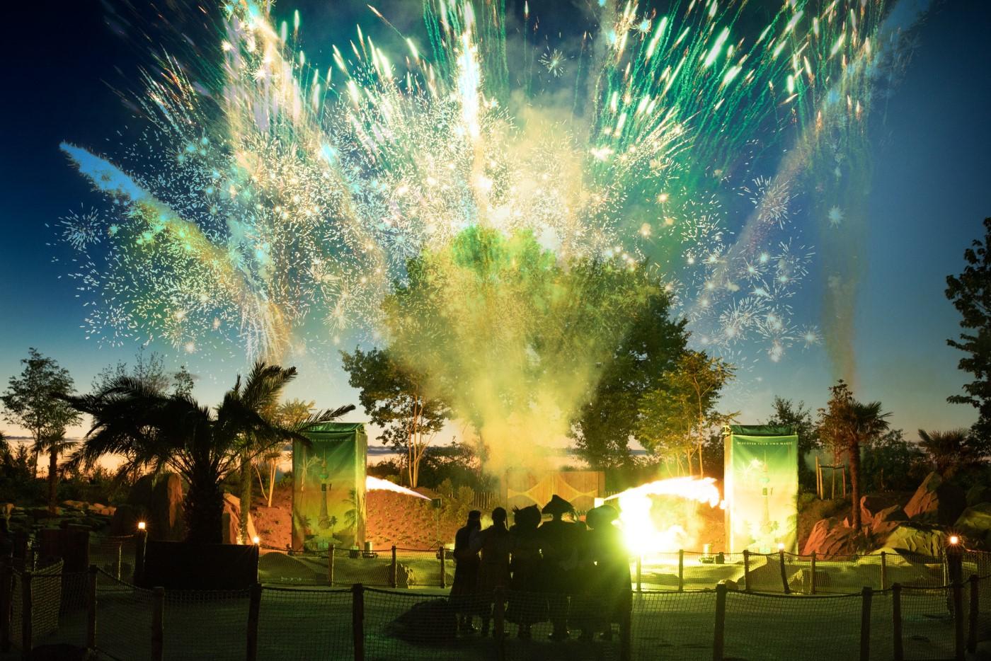 toverland vuurwerkshow