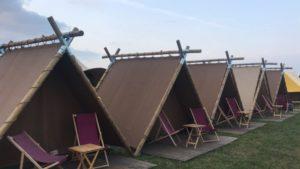 CampSolutions en Luxetenten.com brengen glamping naar Festivals