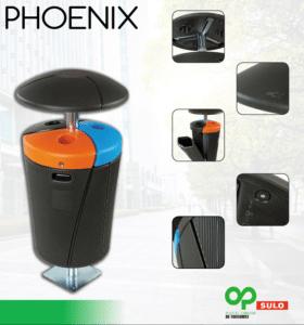 phoenix prullenbak onderdelen
