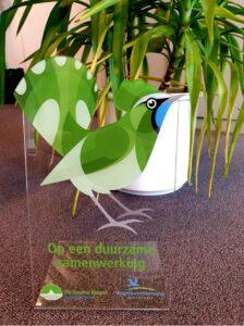 Duurzame samenwerking De Groene Koepel en Vogelbescherming Nederland