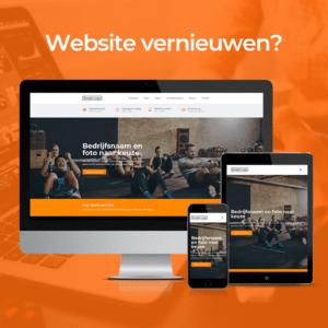 website laten vernieuwen