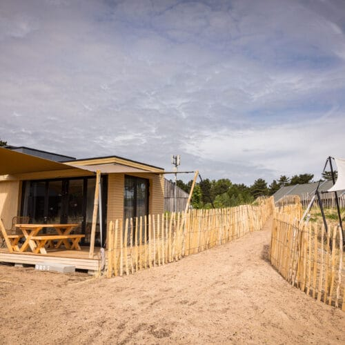 duurzaamhout.nl Natuurvriendelijk verlichten recreatiebedrijf hek