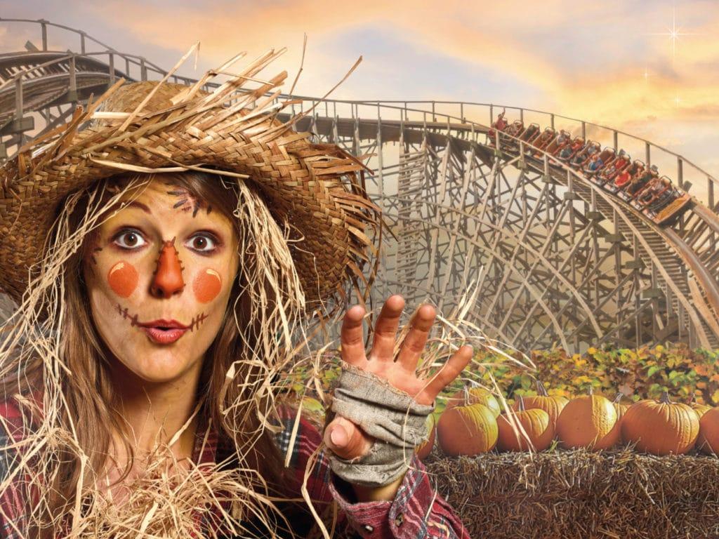 halloween days en nights bij attractiepark Toverland