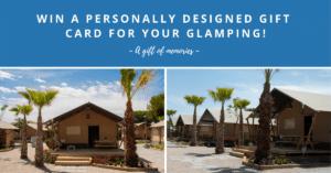 Outstanding tent - win een Glamping voucher