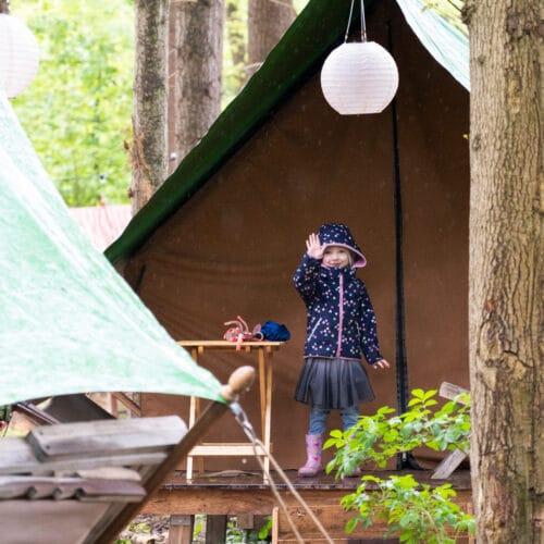 Avontuurlijk overnachten in Burgers' Zoo Camp
