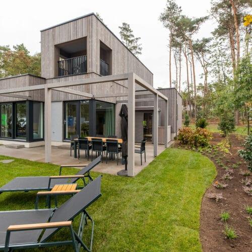Houtskeletbouw Cottages Terhills Resort