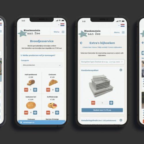 Automatiseringsoplossingen voorbeeld app