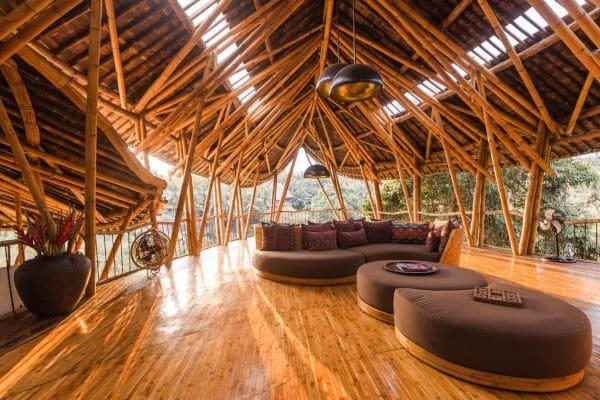 Bamboehotel op Bali mvo