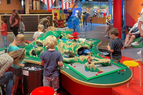 Legoland kinderen spelen
